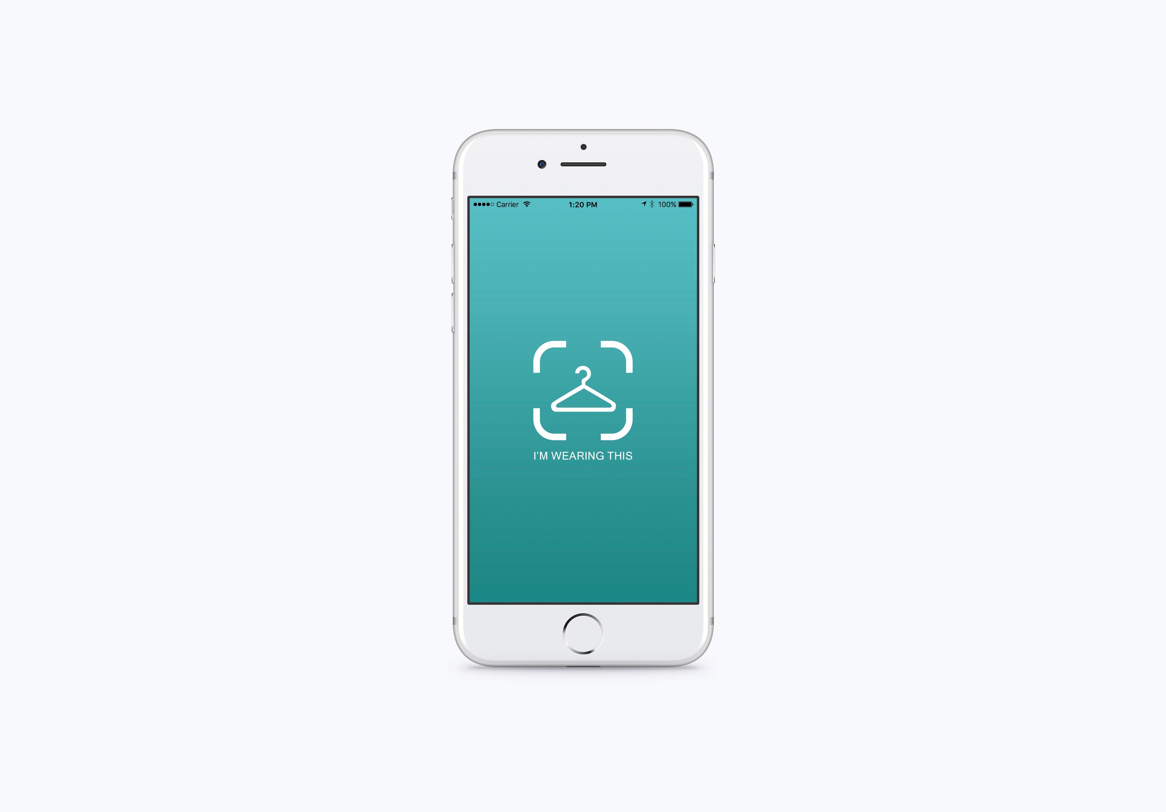 I m wearing this app design suzanne niccolls for App design interni